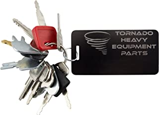TORNADO HEAVY EQUIPMENT PARTS CONSTRUCTION IGNITION KEY...