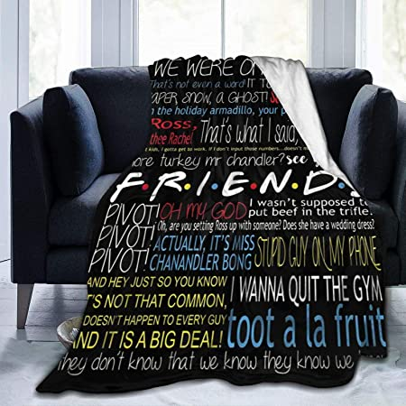 Friends Tv Show Thank You For The Memories Fleece Blanket 50x60x80 Made In US
