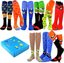 TeeHee Special (Holiday) Women Knee High 9-Pair Pack Socks with Gift Box