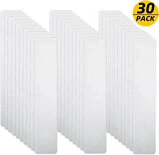 YALAMI Bathtub Stickers Non-Slip Anti Slip Shower Stickers Safety Bathtub Strips,Diamond Pattern Anti-Slip Tape Adhesive for Tubs Pools Stairs Floor Wearable Pack of 30