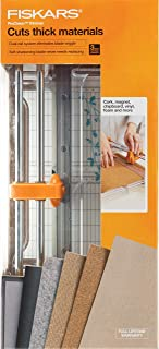 Fiskars 100580-1005 Procision Rotary Bypass Trimmer, White/Grey