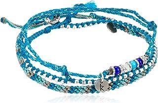 [ワカミ] wakami アンクレット 3 Strand Stone Anklets Turquoise WA-BC17009
