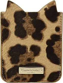 Kate Spade New York - Leopard Sticker Pocket