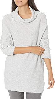 Lark & Ro Boucle Sudadera de Cuello Alto de Gran tamaño Chamarra para Mujer
