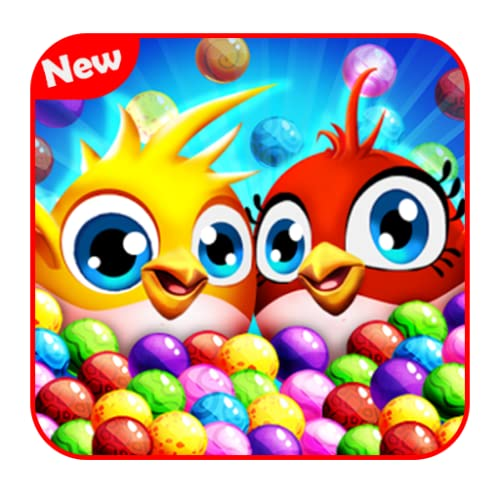 Birds Bubble Shooter Game: The best New Bubble Shooter 2018 Free For Your Mobile and Amazon Kindle Devices