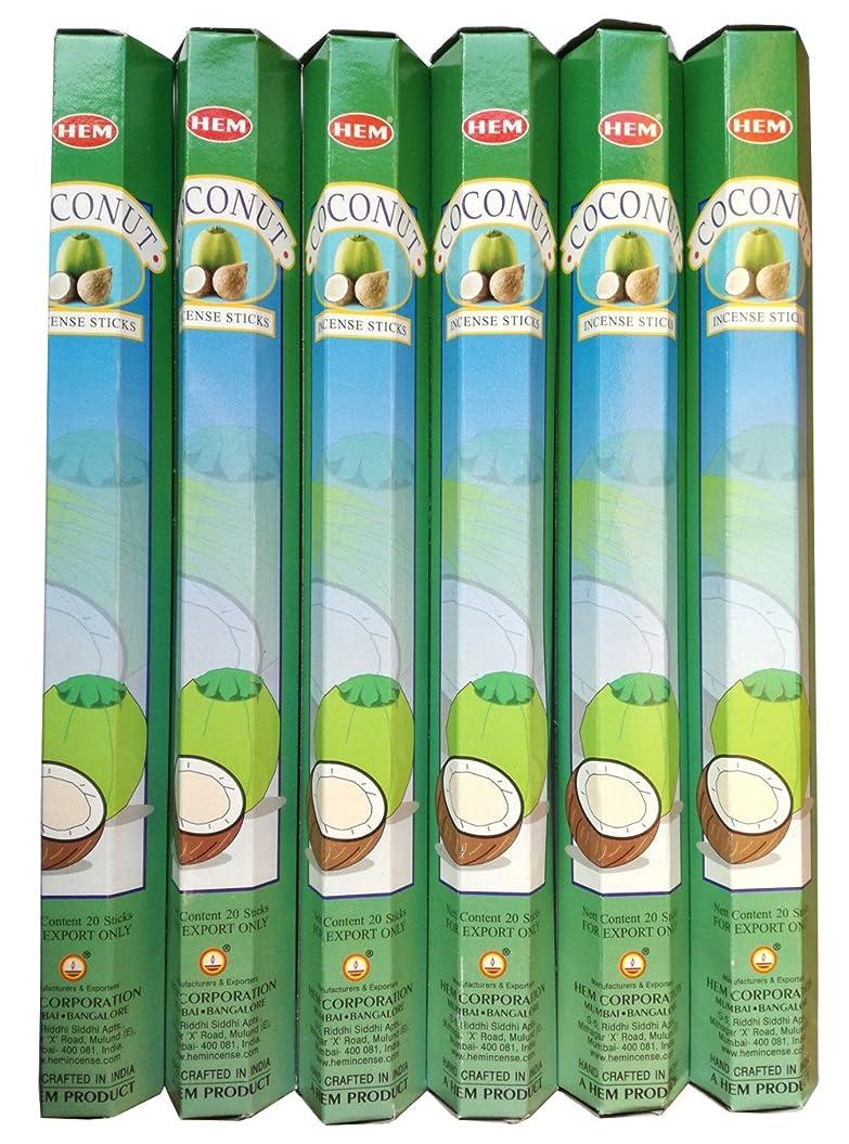 巨大な退却考えHEM ココナッツ 6個セット