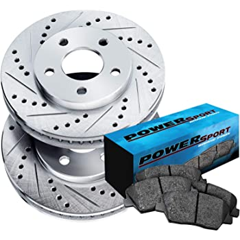 Front Rear Semi-Matllic Brake Pad And Drum Shoes Kit Ford F-150