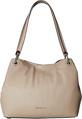ef56817d2eb90 MICHAEL Michael Kors. Isla Ring Shoulder Tote.  248.00. Raven Large  Shoulder Tote