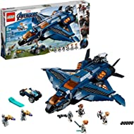 LEGO Marvel Avengers: Avengers Ultimate Quinjet 76126 Building Kit, New 2019 (838 Pieces)