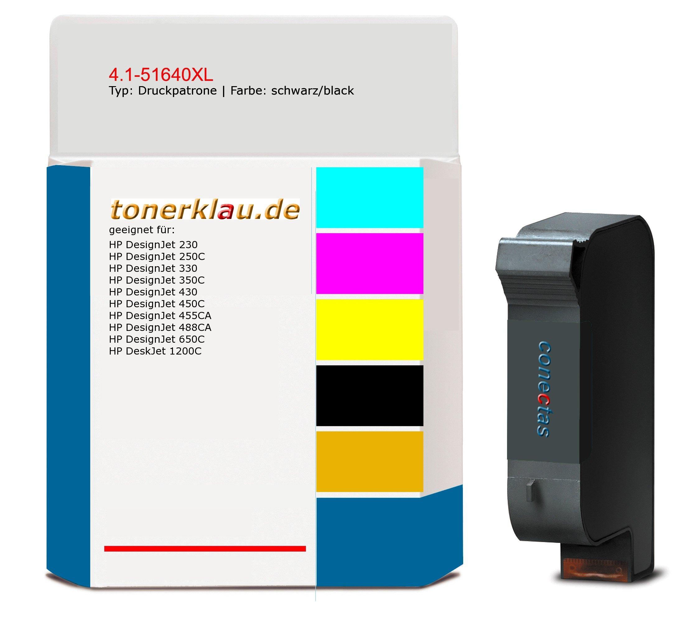 compatible Impresión cartucho de tinta/4.1 – 51640 X L para: HP ...