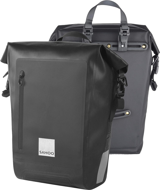 Sahoo Bike Rack Bag 出荷 Pannier Pack 大幅値下げランキング Bi Rear Back