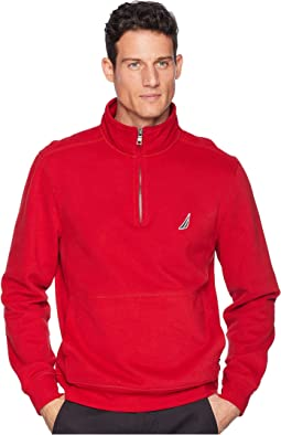 Fleece Basic 1/4 Zip Knit Active