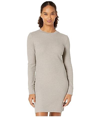 Alternative Thermal Long Sleeve Dress (Smoke Grey) Women