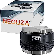 NEOUZA 53mm Coffee Distributor & Tamper 2 in 1, Dual Head Coffee Leveler Fits for 54mm Breville Portafilter, Adjustable De...