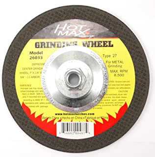 Hot Max 26023 14-Inch Cut Off Wheel 1-Inch Arbor Type 1 5//32-Inch Thickness