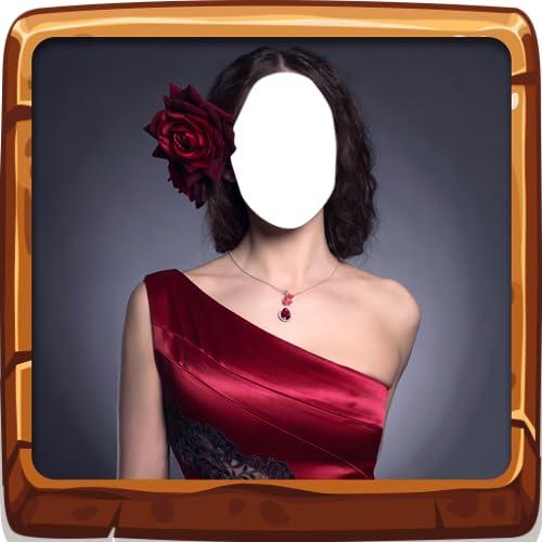 Éditeur de robe de femme latine