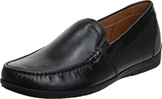 حذاء مسطح للرجال من Geox U Siron W C، بدون كعب