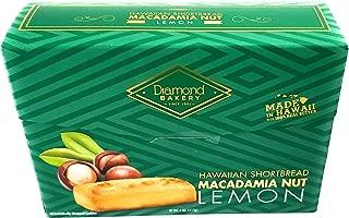 Diamond Bakery Hawaiian Shortbread Macadamia Nut Lemon Cookies 4 oz