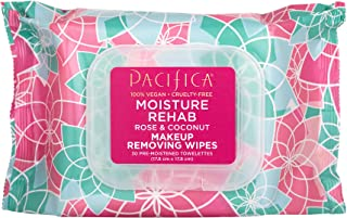 PACIFICA Moisture Rehab Makeup Removing Wipes 30 Count, 30 CT