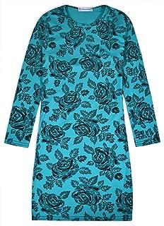 JollyRascals Girls Foil Print Aztec Midi Dress Kids Bodycon Dresses Kids New Summer Dresses Cerise Coral Age 5 6 7 8 9 10 11 12 13 Years