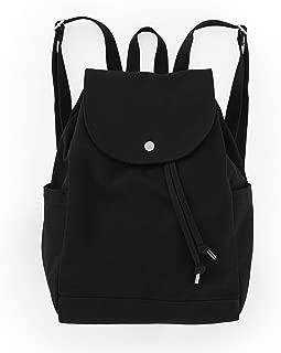 baggu black canvas backpack