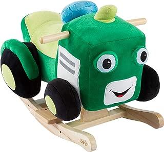 john deere plush rocking tractor