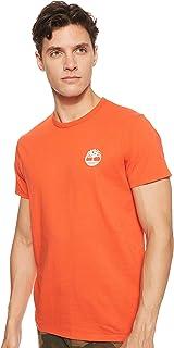 Timberland Men's SS Back Logo Camo T-Shirt