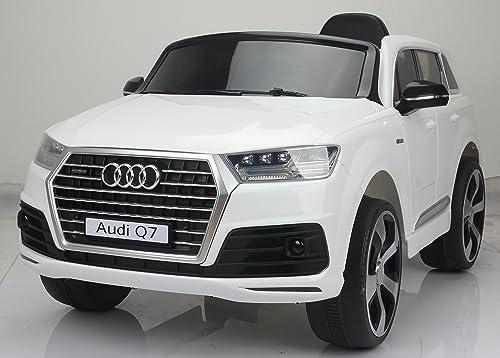 punto de venta en línea Licensed Audi Q7 4.2 TDI Quattro Kids Electric Ride Ride Ride On Car 12v blanco  ventas en linea