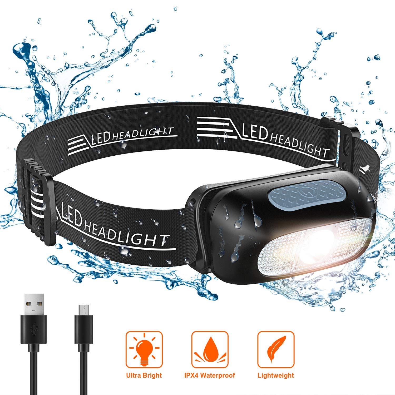 STOON Rechargeable Waterproof Adjustable Flashlight