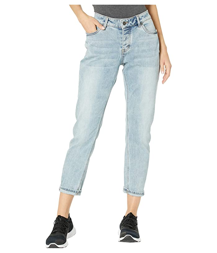 Vintage High Waisted Trousers, Sailor Pants, Jeans Prana Buxton Jeans Summer Wash Womens Jeans $81.75 AT vintagedancer.com