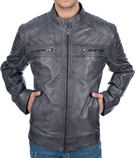 Best mens xxl leather jackets Reviews