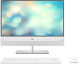 HP Pavilion 24-xa0017nf Ordinateur Tout-en-un 23,8 FHD Blanc (Intel Core i5, 8 Go de RAM, 1 To de Stockage + 256 Go de SSD, Windows 10)