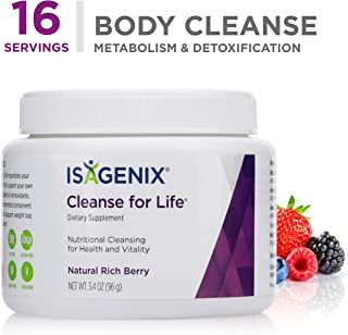 Cleanse for Life® - Natural Rich Berry Flavor Powder - 96 g (3.4 Ounce) Canister