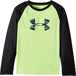Under Armour Kids - Voltage Big Logo Raglan (Little Kids/Big Kids)