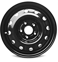 Road Ready Car Wheel For 2011-2017 Jeep Patriot 2013-2017 Jeep Compass 16 Inch 5 Lug Black Steel Rim Fits R16 Tire - Exact OEM Replacement - Full-Size Spare