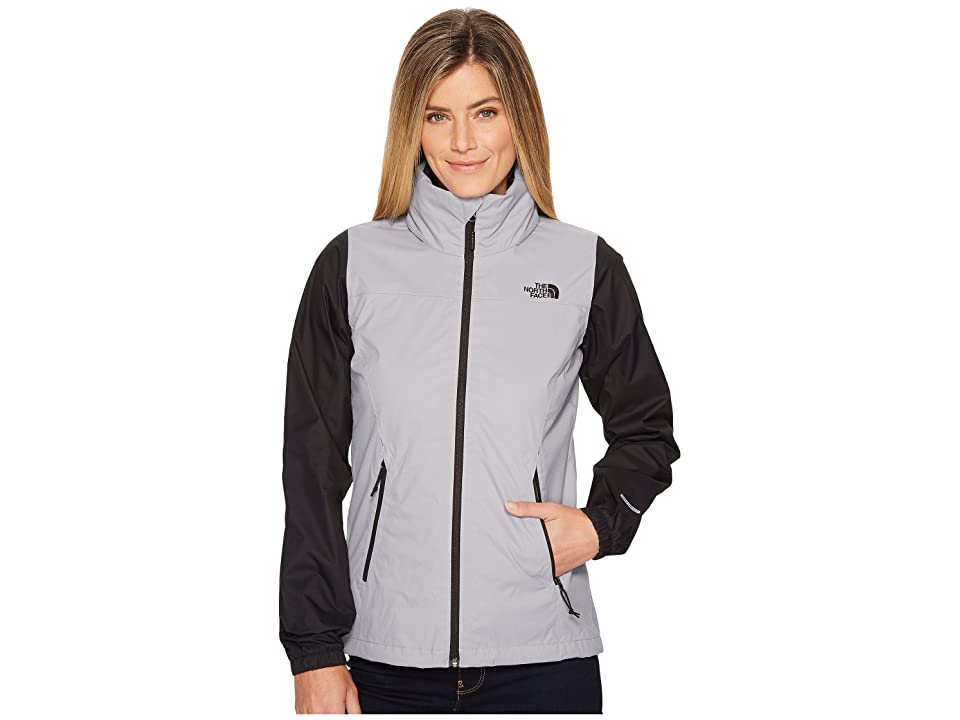The North Face Resolve Plus Jacket (Mid Grey/TNF Black (Prior Season)) Women