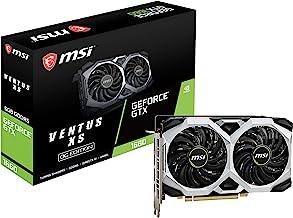 MSI Gaming GeForce GTX 1660 192-Bit HDMI/DP 6GB GDRR5 HDCP Support DirectX 12 Dual Fan VR Ready OC Graphics Card (GTX 1660...