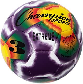 Champion Sports Extreme Series Composite Tie Dye Soccer Ball - Available In Sizes 3, 4, 5