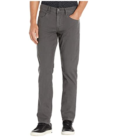 Hudson Jeans Blake Slim Straight Twill Jean (Dark Grey) Men