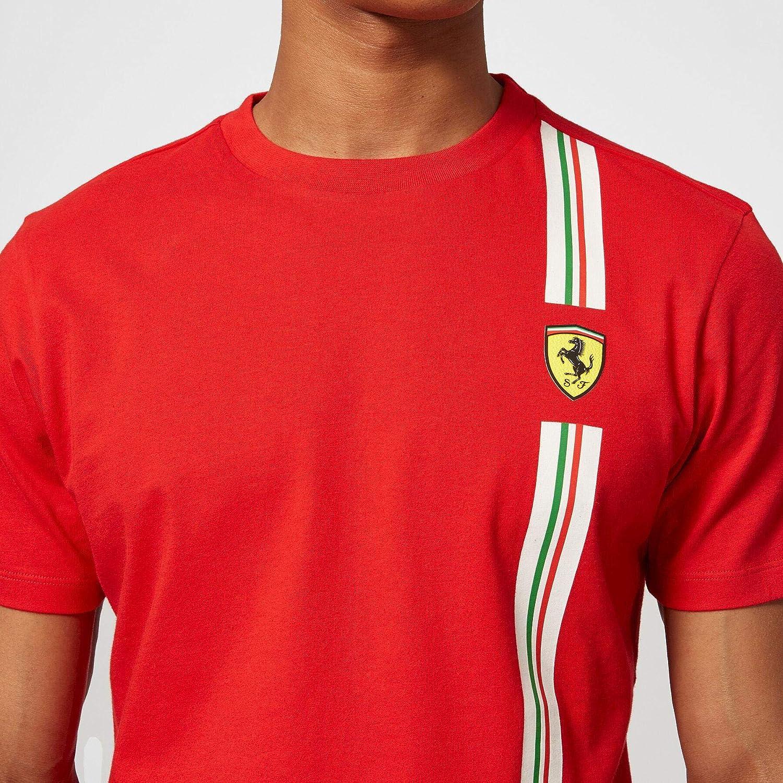 Black Large Formula 1 Mens Team Logo Tee Scuderia Ferrari