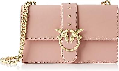 Pinko Love Simply 11 Catena, Borsa a Tracolla Donna, 7.5x16.5x27 cm (W x H x L)