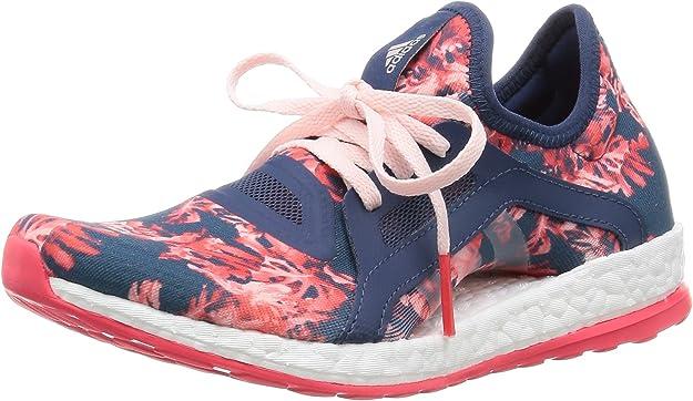 adidas Pureboost X, Chaussures de Running Entrainement Femme, Bleu ...