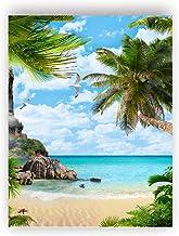 C Angled Beach View Art Print Home Decor Wall Art Poster