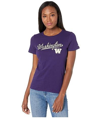 Champion College Washington Huskies University Tee (Champion Purple) Women