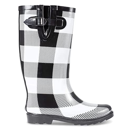 606e762572f1 Twisted Women s Drizzy Tall Cute Rubber Rain Boots