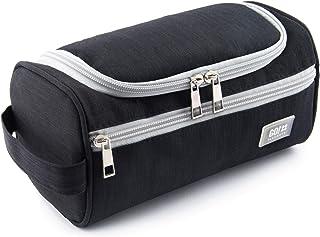 Bolsa de Aseo | Mochila para Colgar Hombres y Mujeres | Bolso cosmético Hombre Mujer para Maletas y Equipaje de Mano | Bolsa de Viaje Bolsa de Lavado, Color:Negro