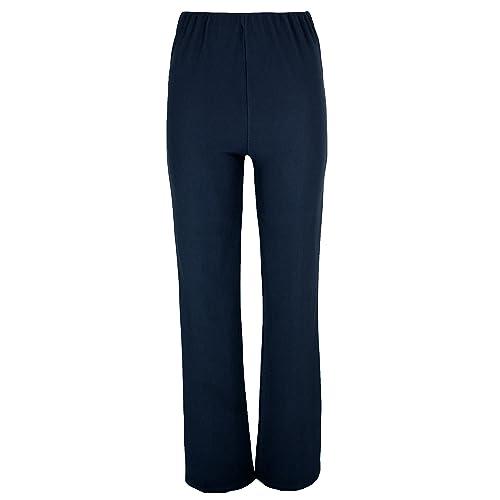 cb0baaae2293cc Lovetoenvy Ladies Nurse Work Carer Keep FIT Stretch Elasticated Bootleg  Trousers in 3 Lengths (8