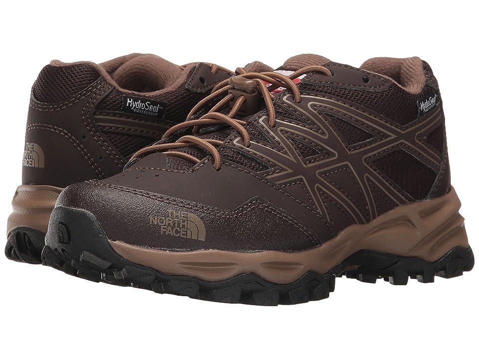 The North Face Kids Jr Hedgehog Hiker WP (Little Kid/Big Kid) (Brunette Brown/Sepia Brown) Boys Shoes