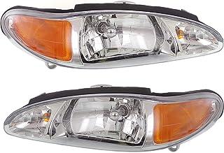 1997-1999 Mercury Tracer Passenger Side Headlight RH For 1997-2002 Ford Escort