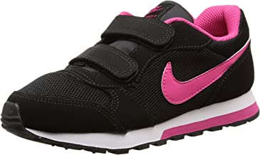 Nike MD Runner 2 (PSV) - Zapatillas para niña, Color Negro/Rosa/Blanco